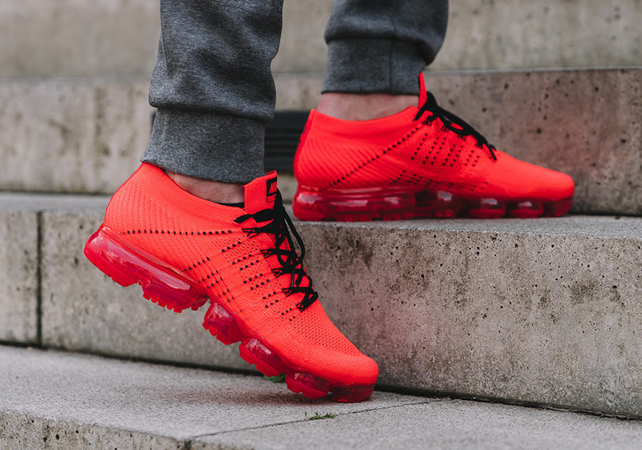 CLOT Nike Air VaporMax Red Flyknit