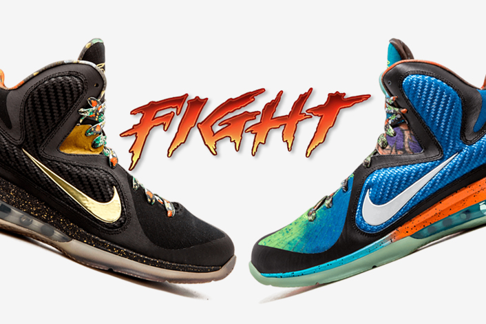 Nike LeBron 9 Watch The Throne What The LeBron - Sneaker ...