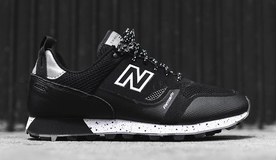 New Balance Trailbuster Re-Engineered Black Steel