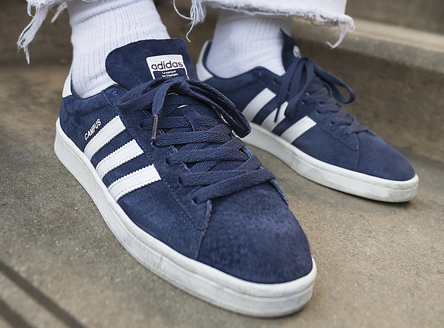 adidas Campus OG Navy Grey Black June 2017 - adidas stan ...