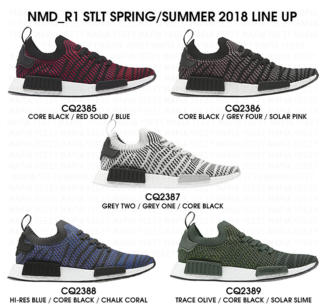a Look at the New adidas Originals NMD Runner R1 2016 Shoe Pack