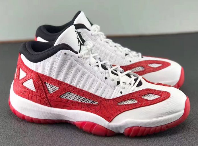Air Jordan 11 Low IE Fire Red 919712-101