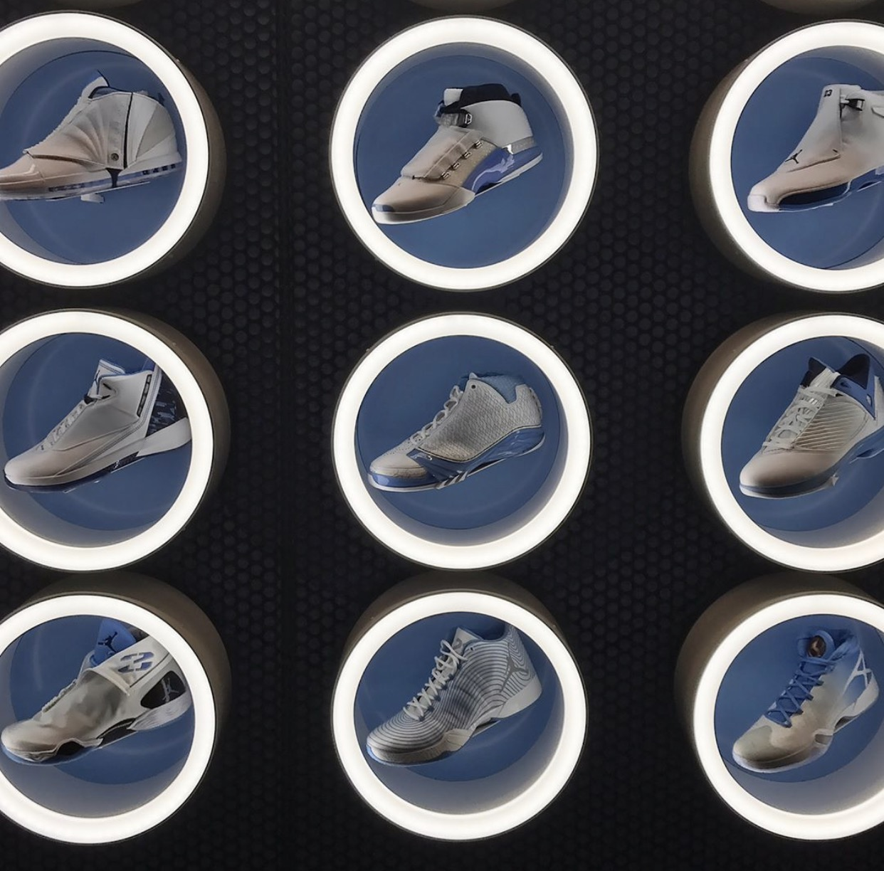 Air Jordan UNC Georgetown Hoyas Retro Collection