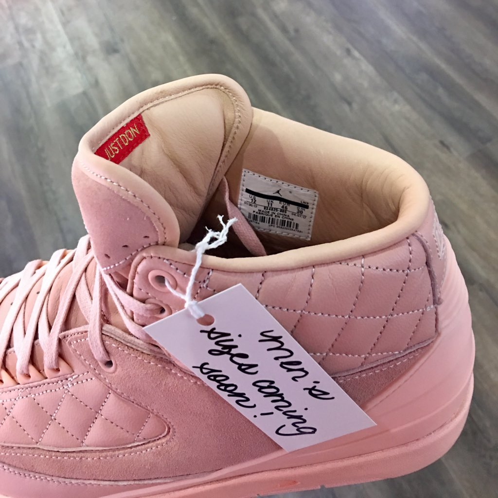 Just Don x Air Jordan 2 Arctic Orange Men Sizes