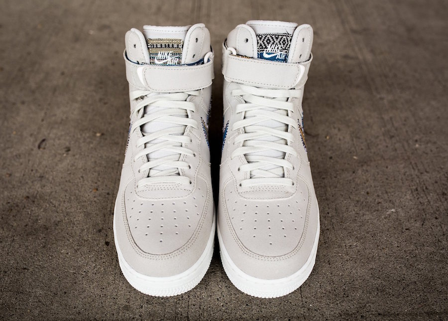 new products c8be2 12a3d Nike Air Force 1 High Afro Punk Light Bone