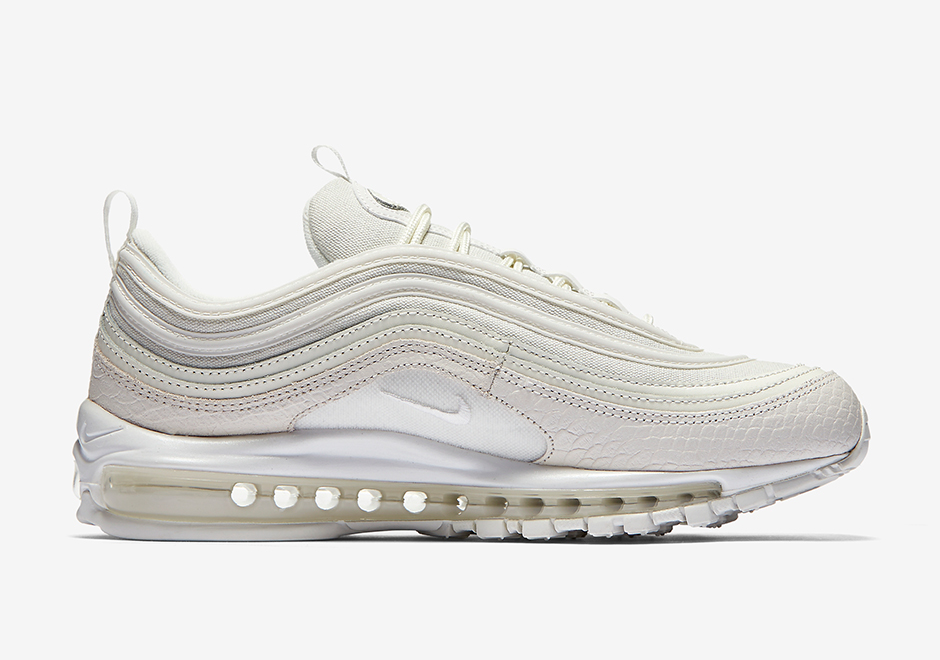 nike air max 97 white snakeskin coming soon sneakers. Black Bedroom Furniture Sets. Home Design Ideas