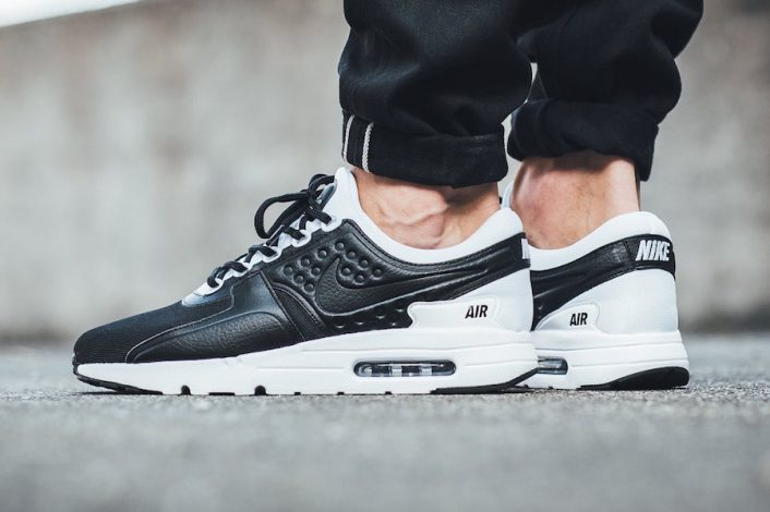 Nike Air Max Zero Premium Black White 881982-003