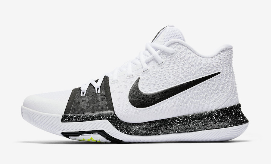 Nike Kyrie 3 White Black 917724-100