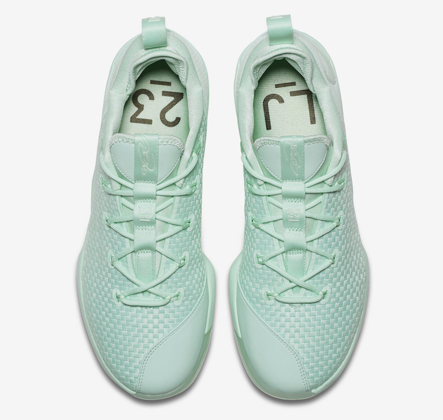 Nike LeBron 14 Low Mint Green 878635-300