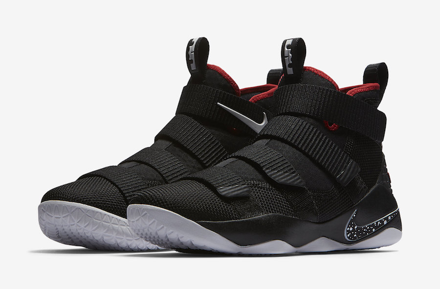 Nike LeBron Soldier 11 Bred 897644-002
