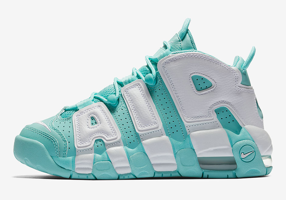 Nike Air More Uptempo Island Green 415082-300