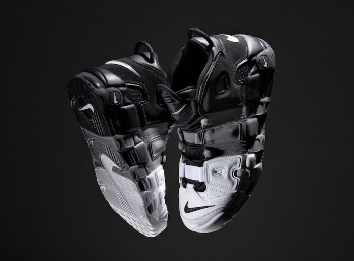 Nike More Uptempo Tri-Color