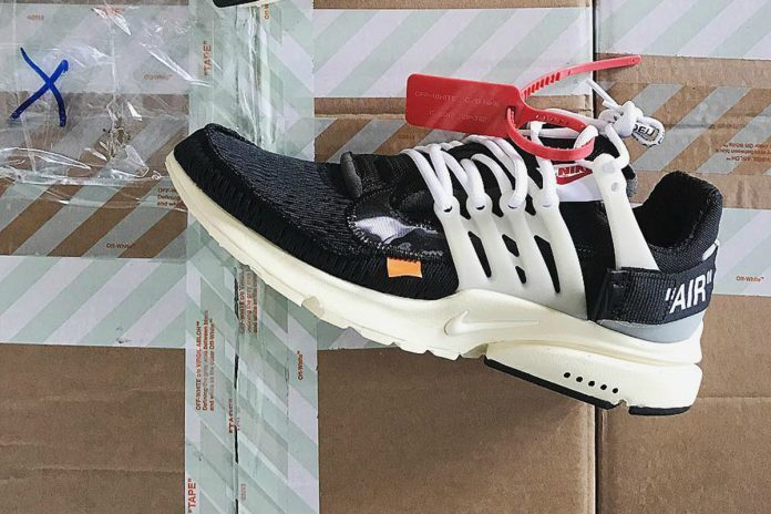san francisco e1dcf c0772 Off-White Nike Presto