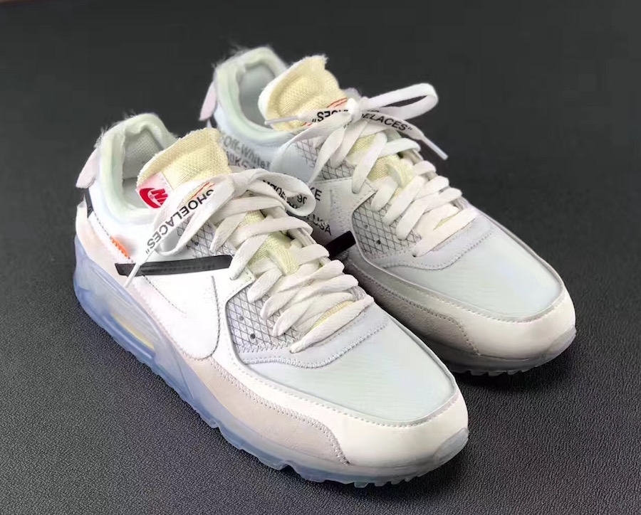 new product eb669 15f1c OFF-WHITE Nike Air Max 90 AA7293-100