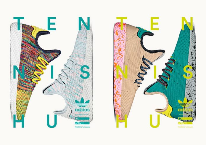 Pharrell adidas Tennis Hu Color Pack Release Date
