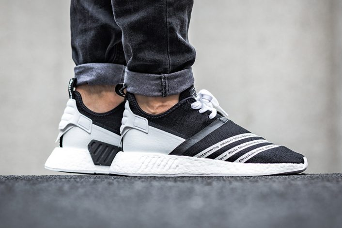 White Mountaineering x adidas NMD Trial NMD R2