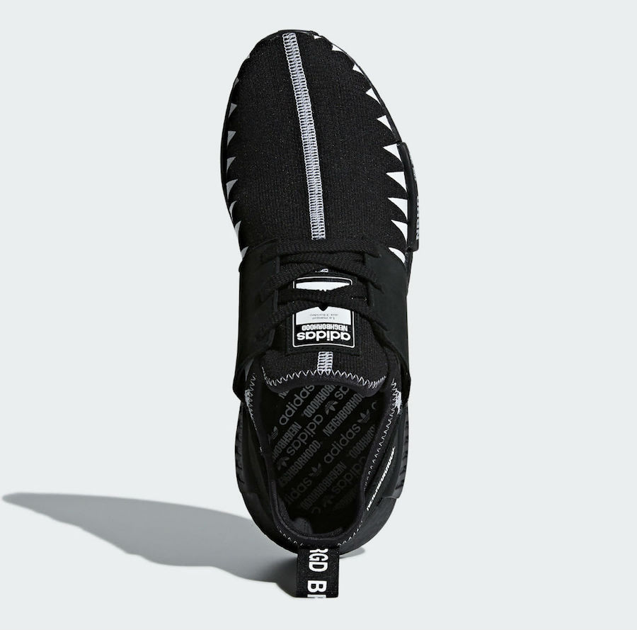 NEIGHBORHOOD adidas NMD Black Boost DA8835