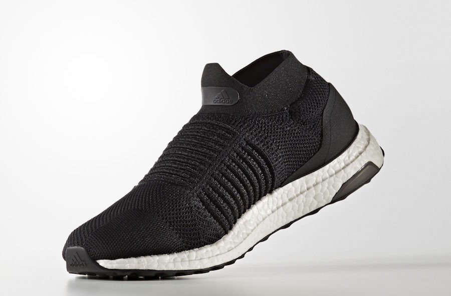 adidas Ultra Boost Laceless Core Black S80770