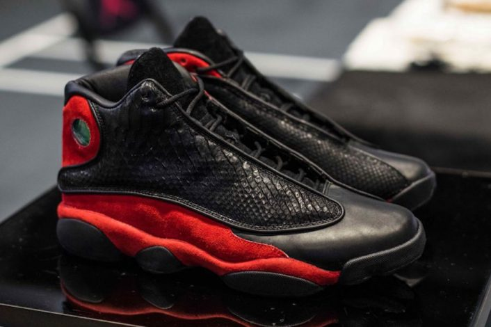 The Shoe Surgeon Air Jordan 13 Bred Python