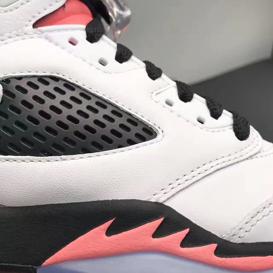 Air Jordan 5 Salmon Tongue 440892-115