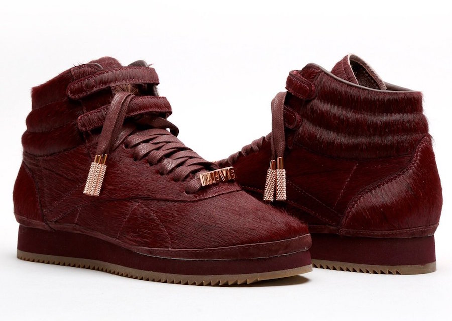 Amber Rose Reebok Freestyle Hi