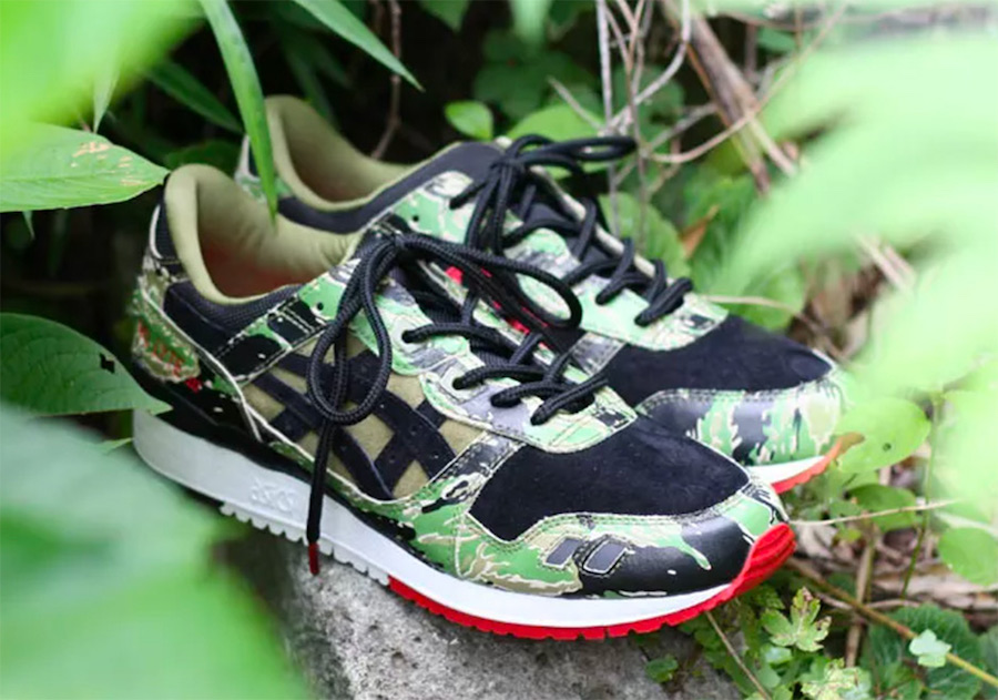 atmos x ASICS Gel Lyte III Tiger Camo Release Date