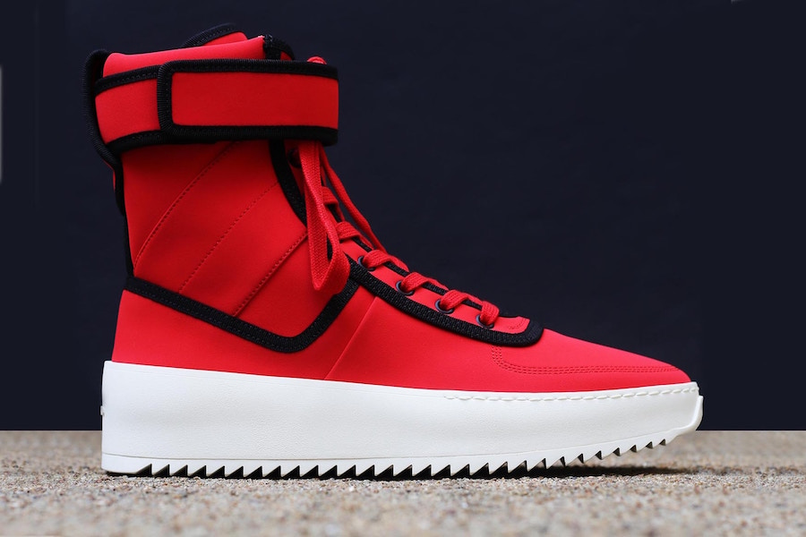 fear of god military boots
