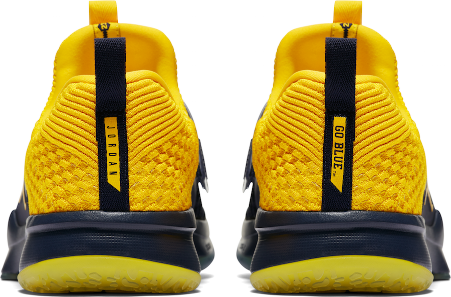 Michigan Jordan Trainer 2 Flyknit