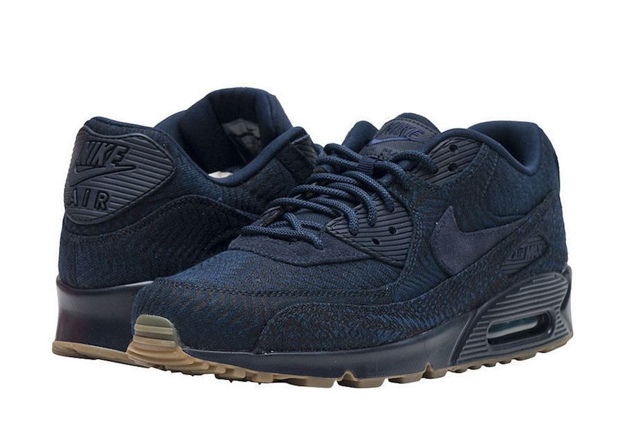 sports shoes 61dfa dbce9 Nike Air Max 90 Premium Indigo 918358-400 - Sneaker Bar Detroit
