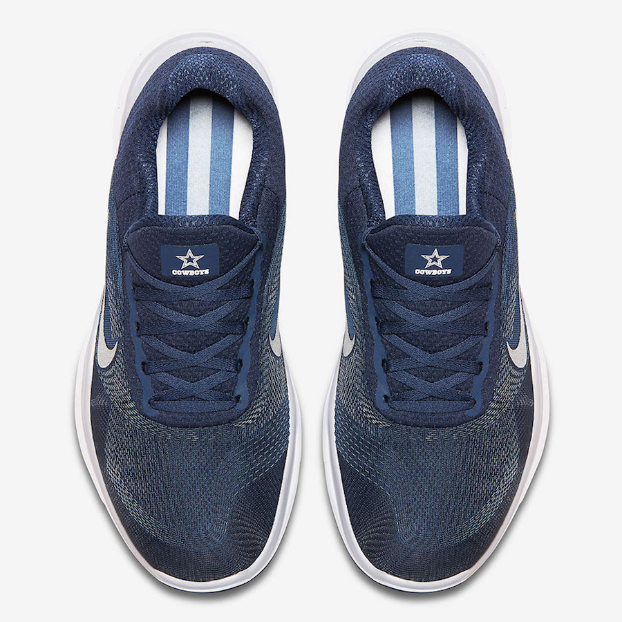 """ce825197cfb8 Nike Free Trainer V7 """"Cowboys"""" Color  College Navy Wolf Grey White-Chrome  Style Code  AA1948-405. Release Date  August 27"""