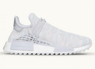 Pharrell adidas NMD Human Race Trail Cotton Candy