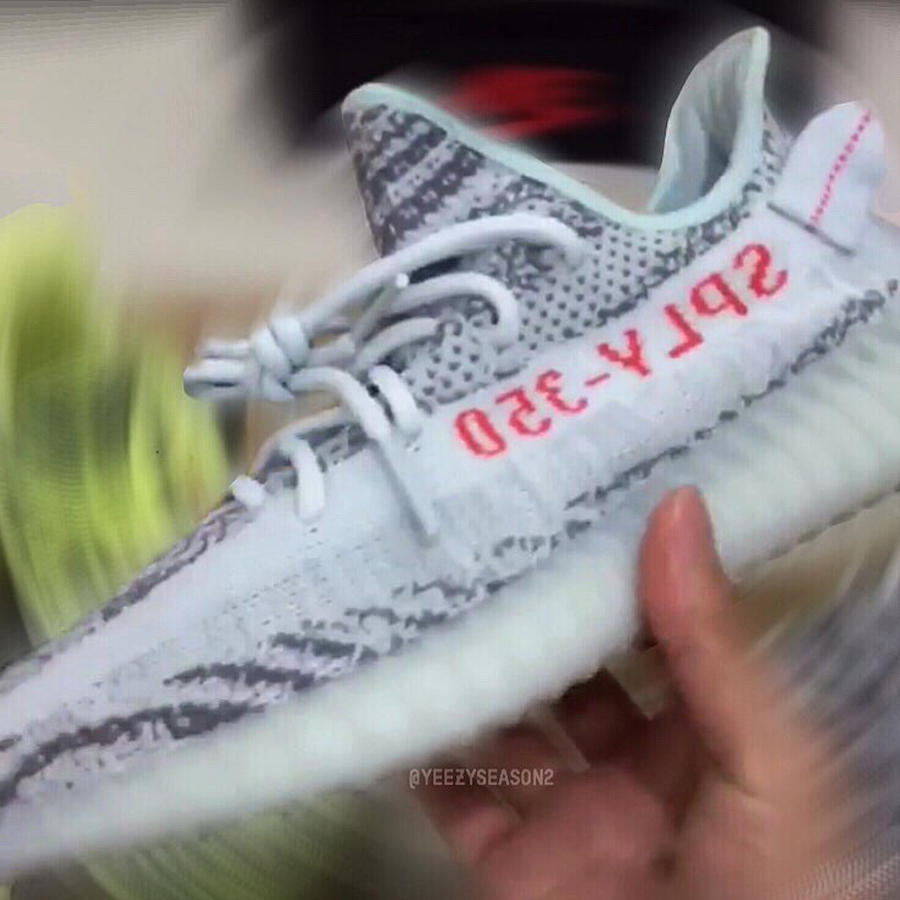 Yeezy Boost 350 V2 Blue Tint Style Code: B37571