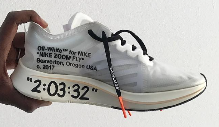 OFF-WHITE Nike Zoom Fly Custom