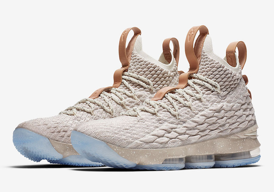 Nike LeBron 15 Ghost String Tan 897648-200