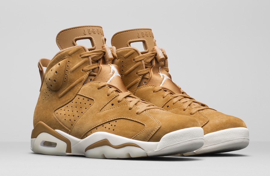 Wheat Air Jordan 6 Golden Harvest Elemental Gold 384664-705