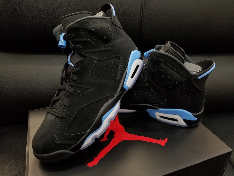 Air Jordan 6 Retro UNC University Blue
