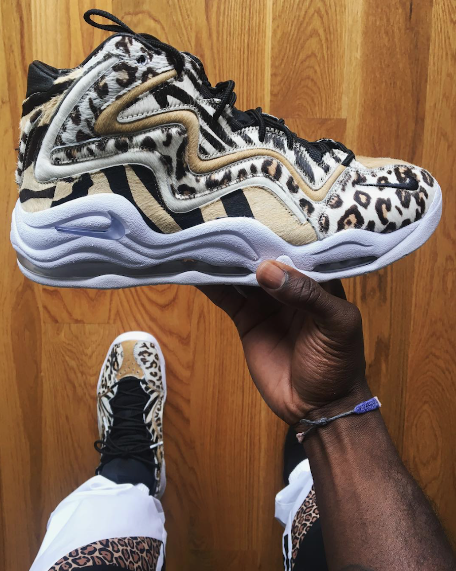 KITH Nike Air Pippen 1 Animal Print