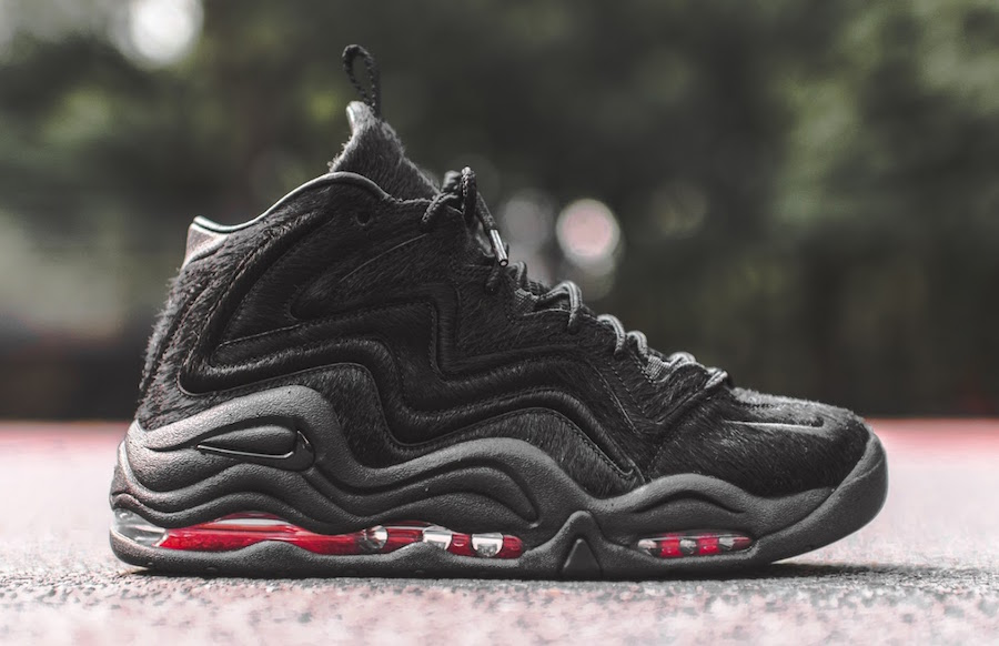 info for bc23b 9f91c KITH Nike Air Pippen Black Pony