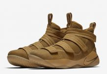 LeBron Soldier 11 Wheat Gold 897647-700