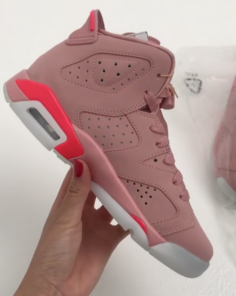 Millennial Pink Air Jordan 6 Aleali May