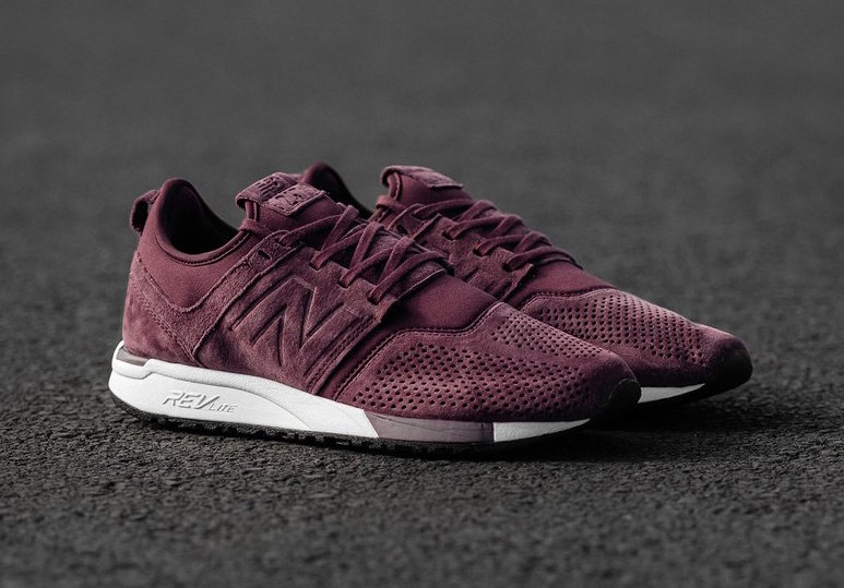 New Balance 247 Burgundy Suede