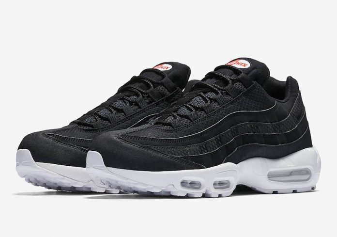 nike air max 95 black and orange