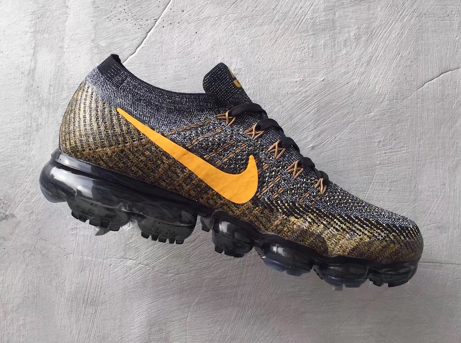 Nike VaporMax Grey Yellow