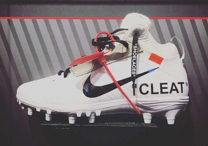 05635f9fe9bb OFF-WHITE x Nike Cleat Mache Custom - Sneaker Bar Detroit