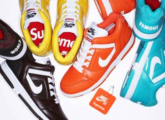 Supreme Nike Air Force 2 Release Date