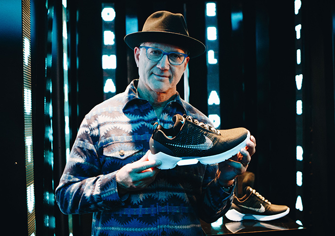 Tinker Hatfield Nike HyperAdapt 2.0 Basketball Shoe