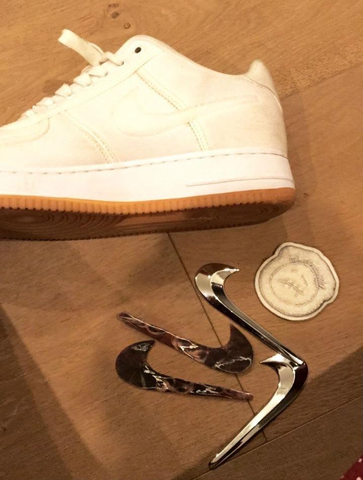 0afb184a Travis Scott Nike Air Force 1 Low Cactus Jack - Sneaker Bar Detroit