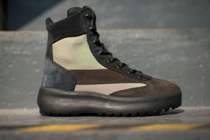 Yeezy Season 5 Oil Light Military Boots