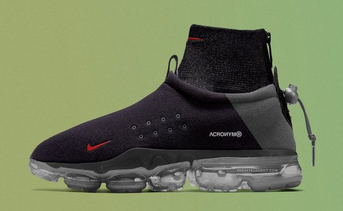 best sneakers 8b447 fc289 Acronym x Nike Air VaporMax Moc Releasing in 2018