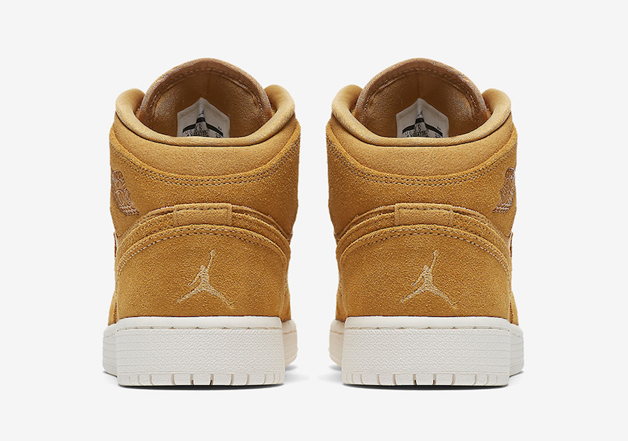Air Jordan 1 Mid Wheat 554725-725